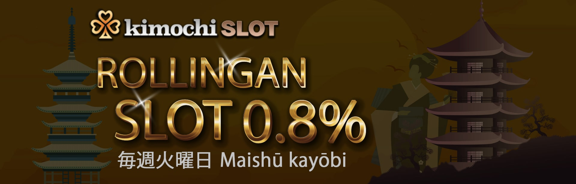 Rollingan slot 0,8% di KIMOCHISLOT