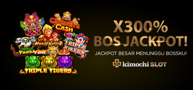 JACKPOT HINGGA 300X